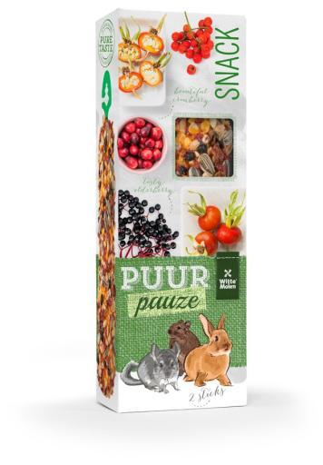 Witte Molen Puur Bâtonnets Rongeurs Fruits 110 Gr 110 Gr