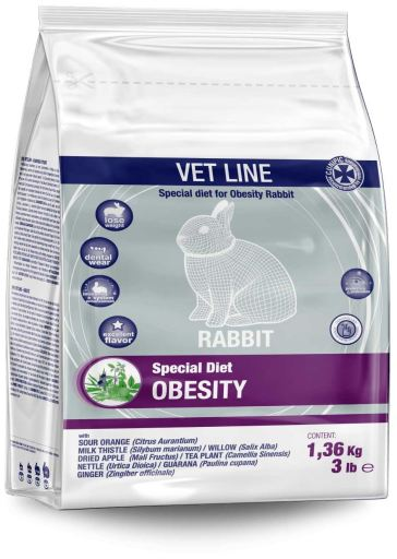 Vet Line Lapins Obesity 1.36 KG Cunipic