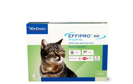 Effipro Duo Spot on Antiparasitic for Cats