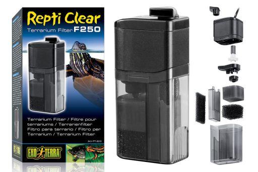 Filter for Terrarium Repti Clear