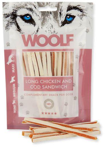 Sandwich de Poulet et Morue 100 gr Woolf