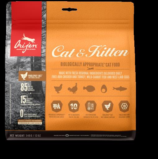 Dry Cat & Kitten 340 GR Orijen