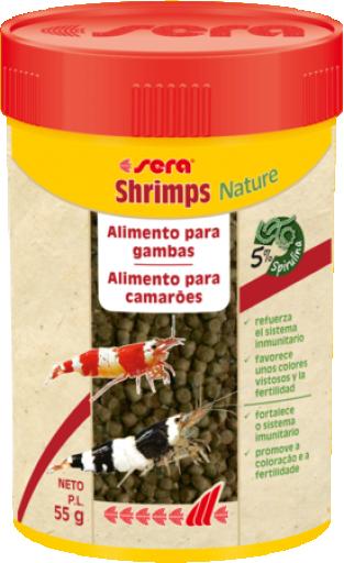 Shrimps Natural 55 GR Sera