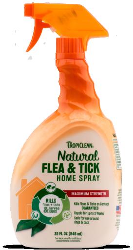Spray contre Puces et Tiques pour la Maison 946 ml 946 ml TropiClean