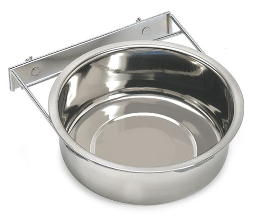 Stainless Steel Feeder with Metal Fixation