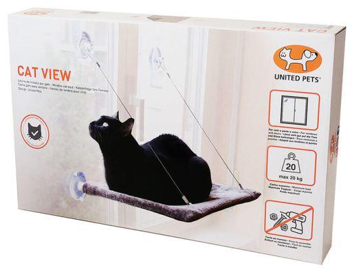Chaise Transat de Fenêtre pour Chats United Pets