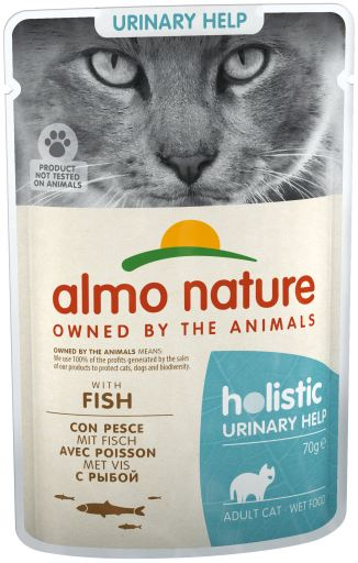 Cat Fonctionnel Wet Urinaire Poisson 70 GR Almo nature
