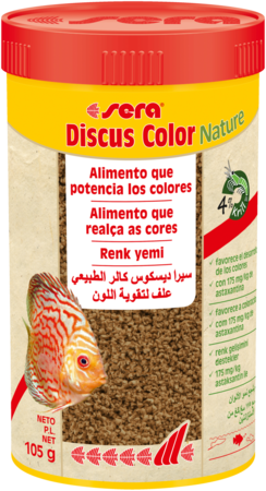Discus Color Red 105 GR Sera