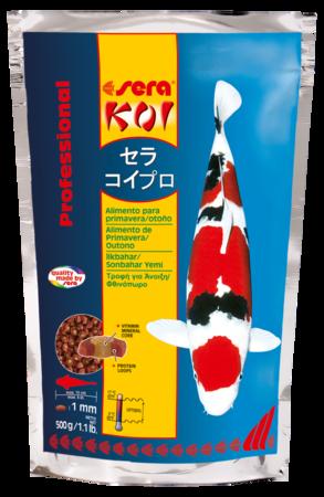 Sera KOI Professional Alimento de Primavera/Outono