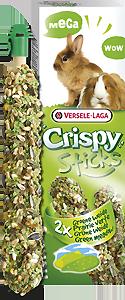 Versele Laga Bâtonnets Crispy Sticks Pré Vert Pour Lapins Et Cochons