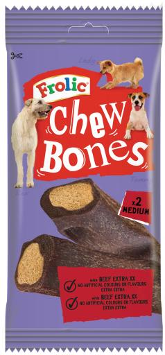 12x170 GR Frolic Chew Bones Chew Bones pour chiens