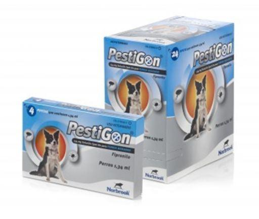 Pestigon 134 Mg. Chiens 10-20 Kg 4 Pipettes Karizoo