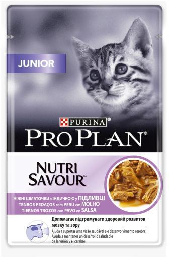 Junior Nutri Savour Pavo en Salsa