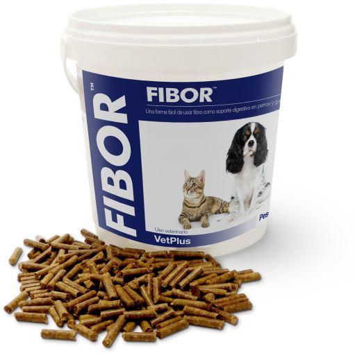 Fibor Suplemento para Problemas Digestivos en Perros y Gatos