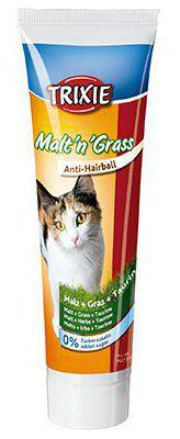 Malt pour Chats Anti-boules avec Herbe 100 gr Trixie