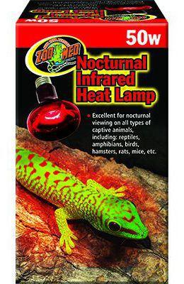 Foco Infrarrojo Heat Lamp 75W 100 gr Zoo Med