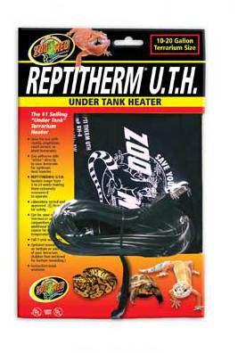 Couverture Thermique Reptitherm U.T.H 24 W 200 GR Zoo Med