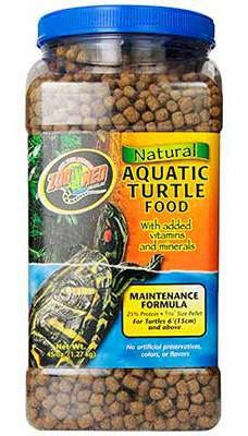 Alimento Tortugas Acuáticas Mantenimiento