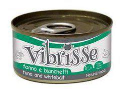 Nourriture Naturelle Thon et Anchois 140 gr Vibrisse