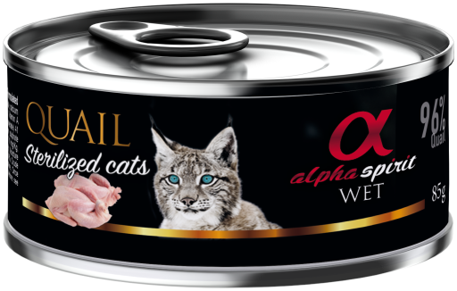 Alpha Spirit Nourriture Humide Pour Chats Stérilisés À Base De