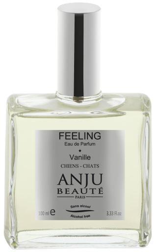 Parfum pour Chiens et Chats Feeling avec Vanille sans Alcool 100 ml