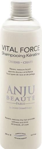 Shampoing pour Chiens et Chats Riche avec Kératine Vital Force 250