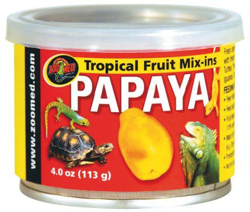 Tropical Fruit de Papaya Mix-Ins 113 GR Zoo Med