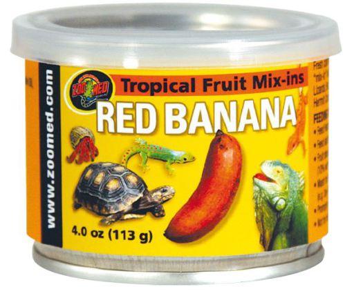 Tropical Fruit de Red Banana Mix-Ins 113 GR Zoo Med