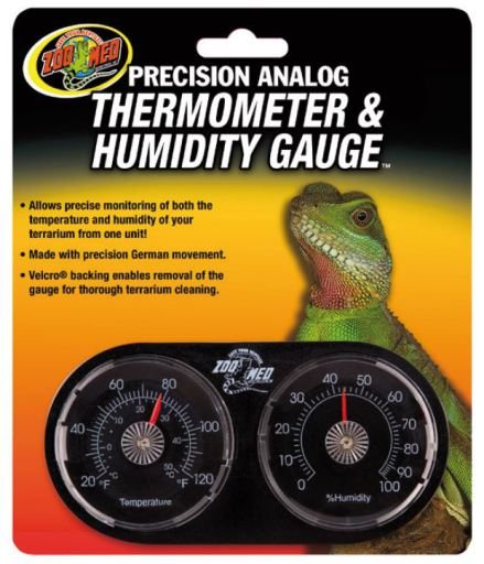 Dual Thermometer-Hygrometer