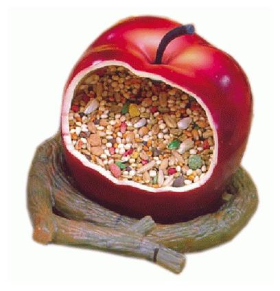 Mangeoire Volailles Pomme Sandimas