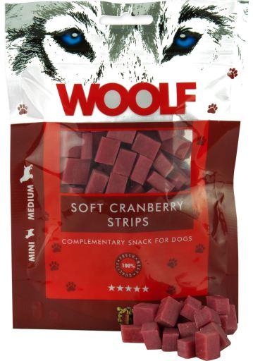Snack pour Chiens de Lanières de Myrtilles Rouges 100 gr Woolf