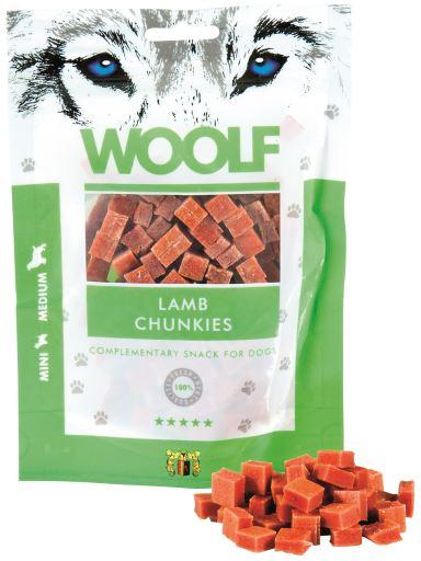 Snack pour Chiens dAgneau 100 gr Woolf