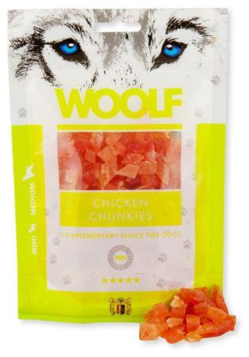 Snack pour Chiens de Poulet 100 gr Woolf