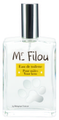 Parfum Mr. Filou pour Mâles 50 GR Beaphar