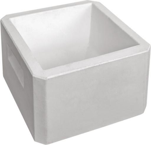 Square Concrete Drinking Trough For Dogs and Cats