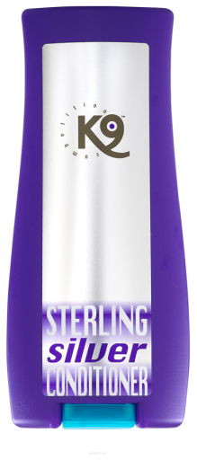 Sterling Silver Après-shampooing 300 ml K9 Competición