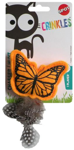 Crinkle Butterfly Cat Toy 26 GR Agrobiothers