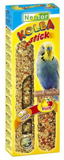Bag. Perruches 2 Saveurs Oeuf Fruits 85G 86 gr Tyrol