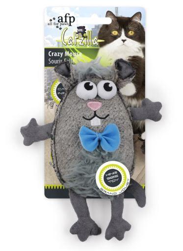 Catzilla Jouet Crazy Mouse 58 gr AFP