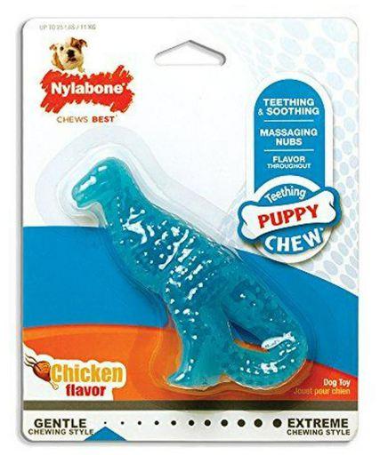Puppy Teething Dental Dino S Chicken Flavour S Nylabone