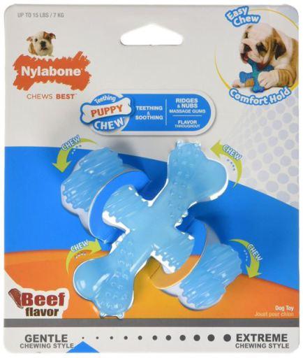 X Bone Puppy Teething S Beef Flavour XS Nylabone