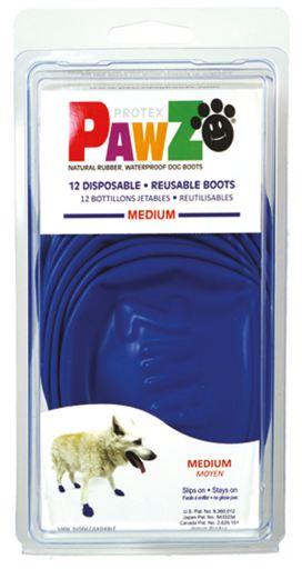 Bottes pour Chiens M (12Bottes) 9 gr Pawz dog