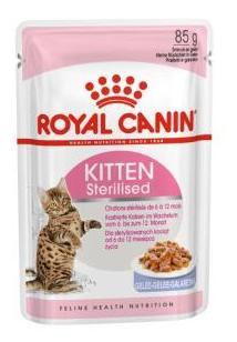 Kitten Sterilised Comida Húmeda Gelatina para Gatitos Esterilizados