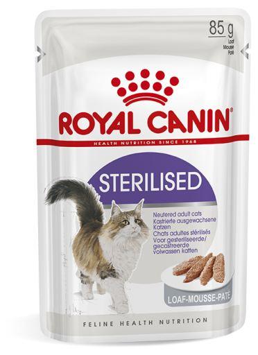 12x85 gr Royal Canin Sterilised Pâté