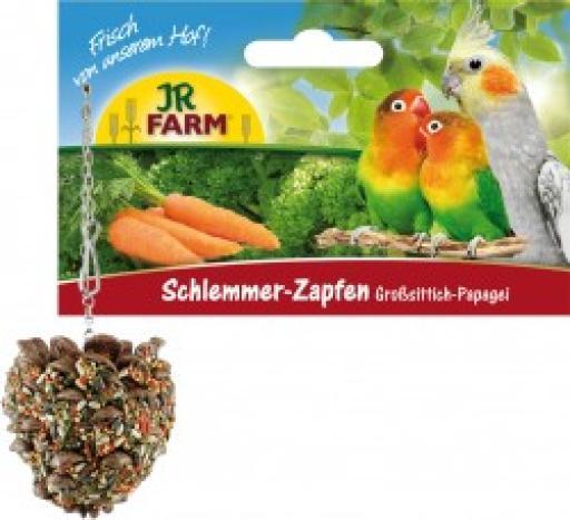 Jr Birds Ananas Gourmet pour Conures et Perroquets 195 GR Jr Farm