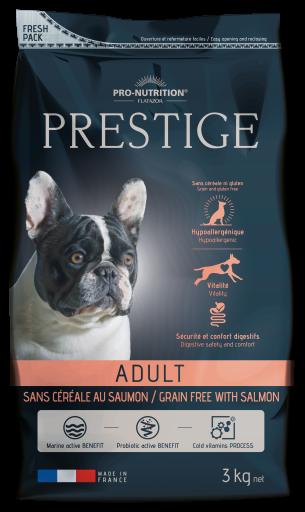 Tourteau pour Chiens Prestige Prestige Adult Saumon sans Céréales 12