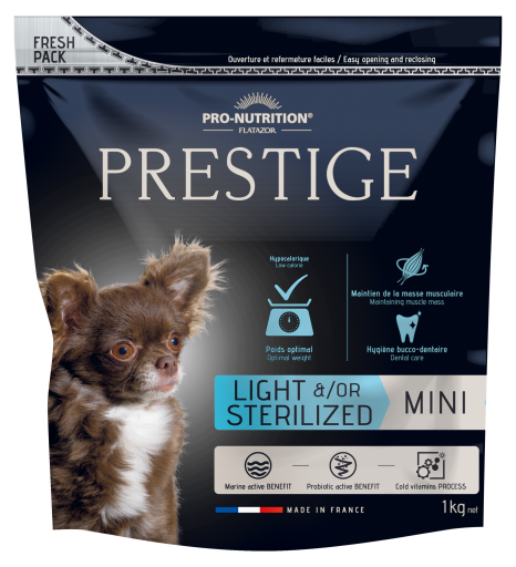 Nourriture pour Chiens Prestige Prestige Adult Mini Light/Sterilized