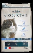 Flatazor Nourriture Pour Chats Crocktail Adult Stérilisé Poulet 10 Kg
