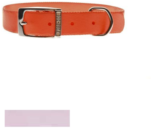 Collier en nylon spécial rose clair 35cm x 15mm Ferribiella