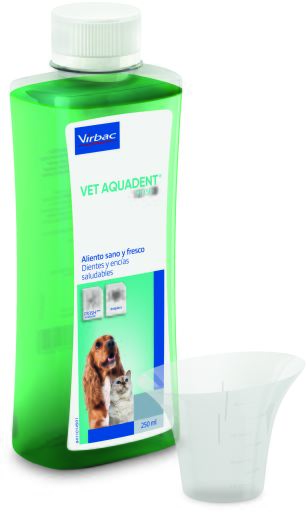 Vet Aquadent Liquid for Dental Hygiene in Dogs and Cats